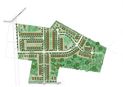 Greenbrier Design Group Civil Engineering And Land Planning Single Family Townhome Residential